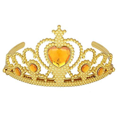 Das beste Tiara für Mädchen Abschlussbälle Festzüge Princess Party Krone (Erwachsene Kostüm Blumentopf Für)