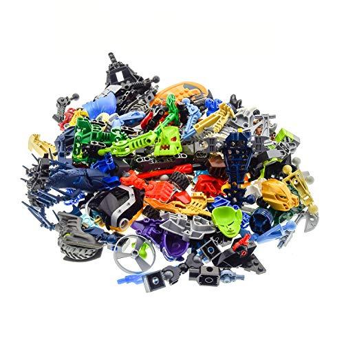 Bausteine gebraucht 0,5 kg Lego Bionicle Hero Factory Slizer Knights Kingdom Technic Mischung Kiloware Form und Farbe der Steine zufällig gemischt 500 g Sortierung