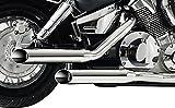 Auspuff Schalldämpfer Falcon Honda VT 600 C Shadow 88-00
