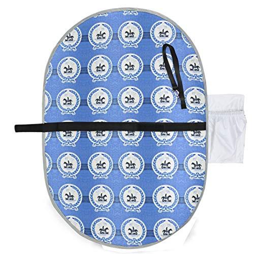 Urine pad Portable Diaper Changing Mat,Blue Laurel Hunt Mattress Sheet Protector Pee Pads Urine Mat Menstrual Pads for Baby and Adults Blue Laurel