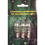 Ersatzlampen 3er 15V/2,5W für 16er Aussenlichterkette XA11961