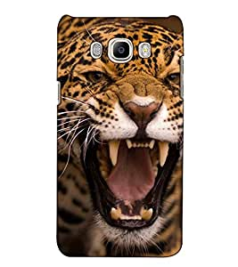 Fuson Designer Back Case Cover for Samsung Galaxy On Nxt (2016) (A tiger theme)
