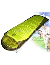 Bazaar Bolsas de dormir que acampa al aire libre -12 centígrados bolsas de dormir pareja twin pack
