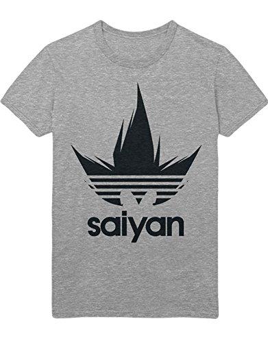 Männer Kostüm Für Cyborg (T-Shirt Dragon Ball Adidas Parody