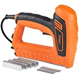 VonHaus 5A Electric Staple Gun & Nailer - Includes Staples & Nails Suitable