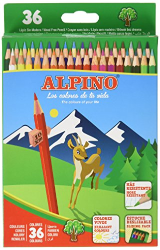 Alpino 944441 – Pack de 36 lápices, multicolor