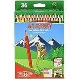 Alpino 944441 - Pack de 36 lápices, multicolor