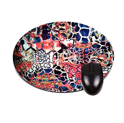 Abstrakt Design TM Rund Maus Pad-stilvoll, haltbar Schreibtisch Accessoire und Geschenk in den USA hergestellt.