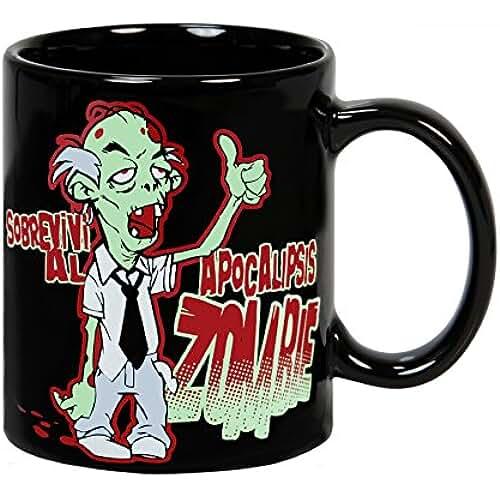 dia del orgullo friki Taza Apocalipsis Zombie
