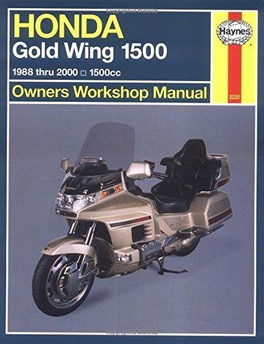 Honda GL 1500 Gold Wing Owners Workshop Manual: 1988-2000 (Haynes Owners Workshop Manuals) by Alan Ahlstrand (28-Jun-2001) Paperback
