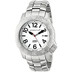 Momentum Mens Quartz Watch, Analogue Classic Display and Stainless Steel Strap 1M-DV74L0
