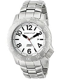 Momentum Herren-Armbanduhr XL TORPEDO Analog Quarz Edelstahl 1M-DV74L0