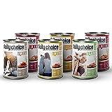 daily choice   24 x 400 g   Nassfutter für Hunde   getreidefrei   Mix   70% Frischfleisch- und Innereienanteil Optimale Verträglichkeit