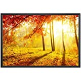 Sunrise High Quality UV Textured Wall Poster - With Frame, 18 Inch X 12 Inch , Poster: Home, Hotels & Office Interior Decor