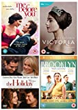 Romance Collection: Me Before You / Victoria - Series 1 / The Holiday / Brooklyn