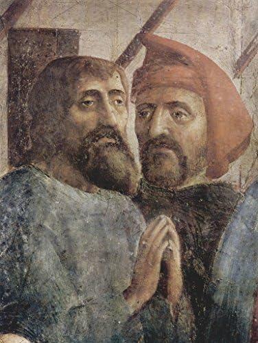 Lais Puzzle Masaccio - Scènes de la Vie de Pierre, Guérison des Ombres de Pierre 1000 Pieces | Une Grande Variété De Modèles 2019 New