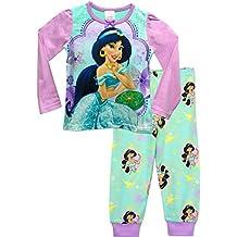 Disney Aladdin - Pijama para niñas - Princesa Jasmine