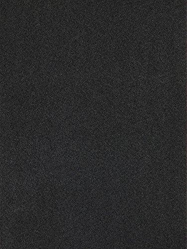 havatex Velours Teppich Burbon - 16 Moderne sowie Klassische Farben   Top Preis-Leistung   TÜV-geprüft & schadstoffgeprüft   Wohnzmmer Schlafzimmer, Farbe:Schwarz, Größe:200 x 300 cm (Top Klassische 200)