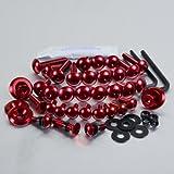 Aluminium Fairing Kit GSR750 Red