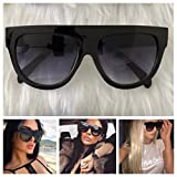 AYZA Fashion Sonnenbrille Schwarz Damen Vintage Blogger Katzenauge Oversize