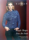Rowan Simple Shapes Fine Art Aran 8 Design für Damen
