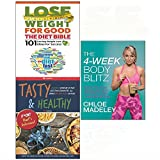 Diet bible, tasty & healthy, 4-week body blitz 3 books collection set