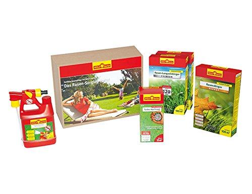 WOLF-Garten Rasen-Sorglos-Paket 100 m² granuliert P719; 3734719