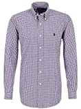 Ralph Lauren FREIZEITHEMD purple/white kariert Herren hemd violett (S)