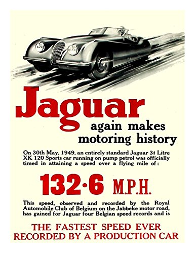jaguar-xk120-vintage-poster-speed-record