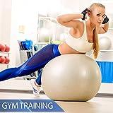Gymnastikball 65, 75, 85, 95 cm + Pumpe Sitzball Hüpfball Fitnessball Medizinball - 4