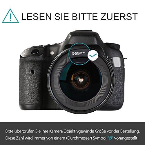 Savvies Pellicola Protettiva Compatibile con Panasonic Lumix DMC-TZ70 Protezione Schermo 6 Pezzi