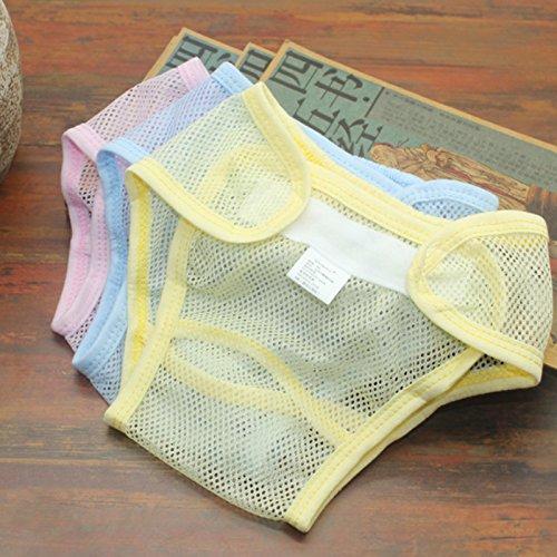 icycheer verstellbar atmungsaktiv Mesh Windel Cover wiederverwendbar waschbar Windeln Baby Training Hosen für Sommer