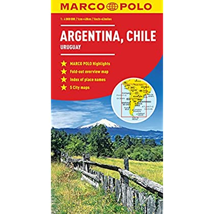 Marco Polo Argentina, Chile: Uruguay [Lingua Inglese]