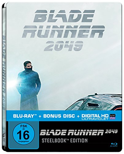 Blade Runner 2049 (Limited Steelbook Edition) [Blu-ray]