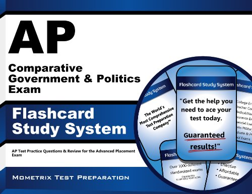 AP Comparative Government & Politics Exam Flashcard Study System: AP Test Practice Questions & Review for the Advanced Placement Exam
