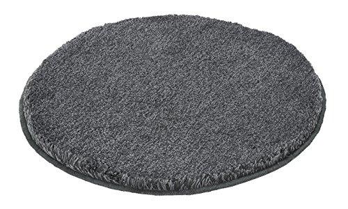 Kleine Wolke 5405901307 Badteppich Relax 60 cm rund anthrazit