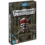 Pirates of the Caribbean 1-4 Boxset