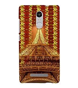 PrintVisa Travel Paris Eifel 3D Hard Polycarbonate Designer Back Case Cover for Xiaomi Redmi Note 3