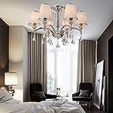 OOFAY LUCE europee lampadari di cristallo di lusso moderno con 6 luce