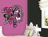 Klebefieber Wandtattoo Monster High Love at First Bite B x H: 50cm x 54cm