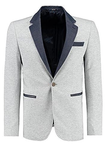 Jeel Herren Blazer Anzug Sakko Casual Slim-Fit Freizeit Business Jacket