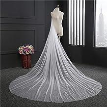 Yu* Velo de la boda una sola capa Novia Headpieces Accesorios Capilla Velos Catedral Velos / Ronda Larga arrastre / encaje suave , white