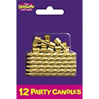 Expression Factory - Gold Cake Candles