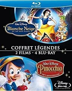 Blanche Neige et les sept nains + Pinocchio [Blu-ray]
