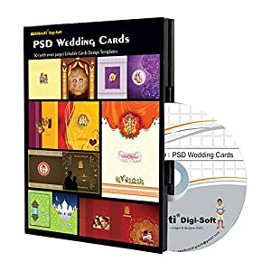Abhikruti Wedding Design Templates in PSD 1 PC (DVD)