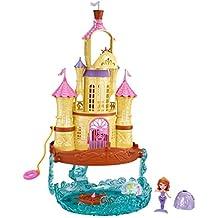 Mattel CLK40 - Set da gioco delle Principesse Disney: Castello 2 in (Disney Castello)