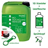 Bio-chem Final Touch - Detergente per superfici laccate e mobili, privo di striature biologiche, 10 l