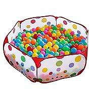 Kuuqa bambini Box tenda del gioco sfera Pit Pool con Red cerniera Borsa di stoccaggio per i più piccoli, animali domestici  Il prodotto è stato progettato per contenere le palle pit per migliorare la capacità del bambino di colori riconoscere...