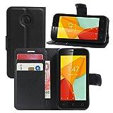 HualuBro Vodafone Smart Mini 7 Case, Premium PU Leather