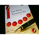 DELUXE LAST WILL AND TESTAMENT KIT, brand new and sealed, latest 2016 Edition, direct from Publisher,